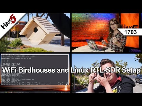 Wifi Birdhouses Ve Linux Rtl-Sdr Kur, Hak5 1703