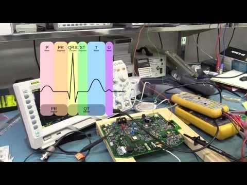 Eevblog #660 - Elektrokardiyogram (Ekg) Deneyleri
