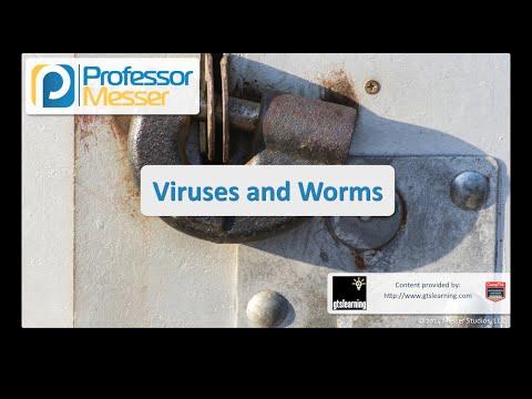 Virüsler Ve Solucanlar - Sık Güvenlik + Sy0-401: 3.1