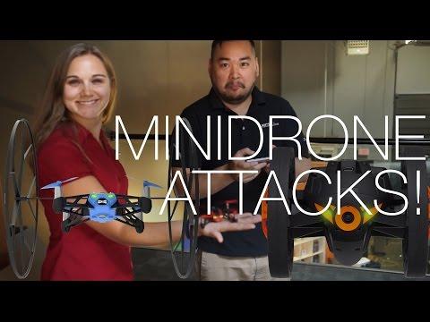 Örümcek Haddeleme Ve Sumo Uygulamalı Atlama Papağan Minidrones