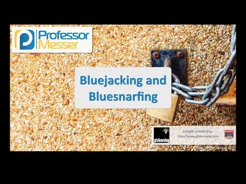 Bluejacking Ve Bluesnarfing - Sık Güvenlik + Sy0-401: 3.4