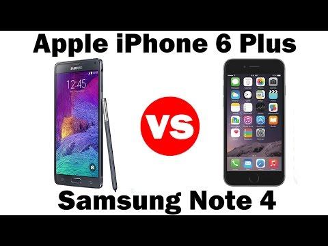İphone 6 Artı Vs Samsung Galaxy Not 4 Karşılaştırma