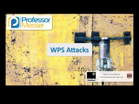 Wps Saldırıları - Sık Güvenlik + Sy0-401: 3.4
