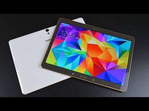 """Samsung Galaxy Tab S 10.5"""": Unboxing Ve Gözden Geçirin"""