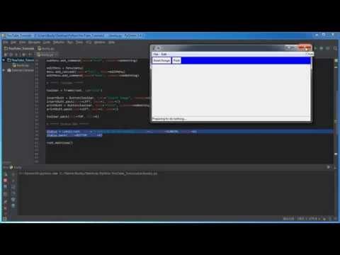 Python İle Tkinter - 11 - Guı Durum Çubuğu Ekleme