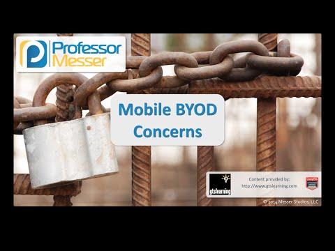 Mobil Byod İlgili Sorunlar - Sık Güvenlik + Sy0-401: 4.2