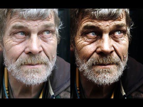 Öğretici: Photoshop (Slovak Altyazı) Kolayca Dramatik Bir Portre Yapmak Nasıl