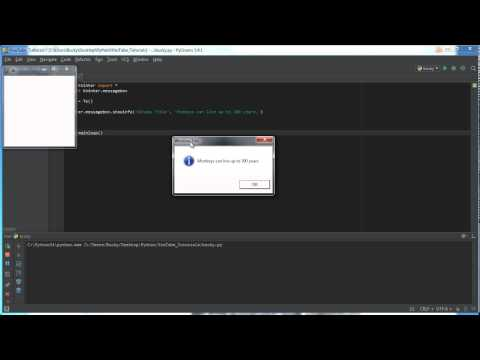 Python Tkinter - 12 - Messagebox İle Guı