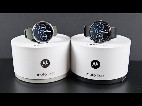 Moto 360 (Siyah Gri Vs): Kutulama & İnceleme