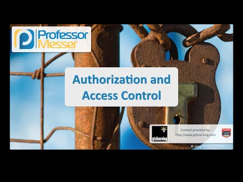 Yetkilendirme Ve Erişim Denetimi - Sık Güvenlik + Sy0-401: 5.2