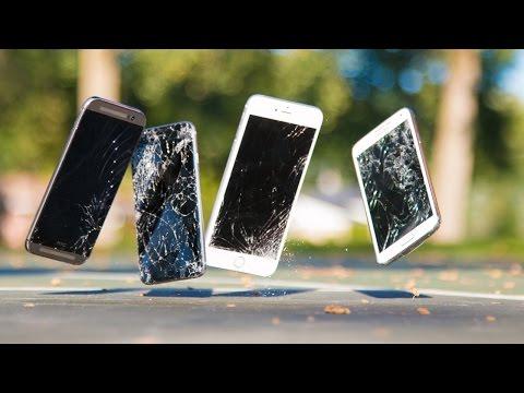 Son İphone 6 Ve İphone 6 Artı Damla Test! (Vs Samsung Galaxy S5 Ve Htc Bir M8)