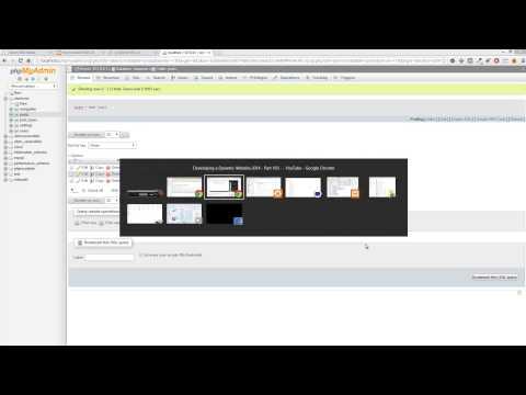 Bir Dinamik Web Sitesi 2014 - Bölüm 104 Sayfa Yöneticisi Sabitleme - Geliştirme