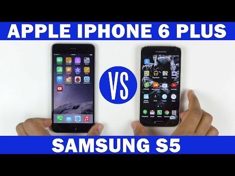 İphone 6 Artı Vs Samsung Galaxy S5 Tam In-Depth Karşılaştırma