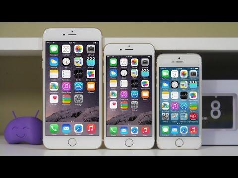 İphone 6 Vs İphone 6 Artı Vs İphone 5'ler - Tam Karşılaştırma