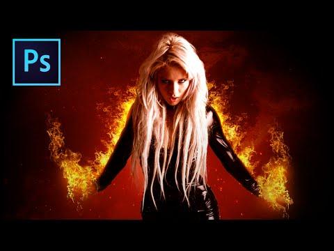 Ateşli Portre ⋆ Photoshop İşleme Eğitimi
