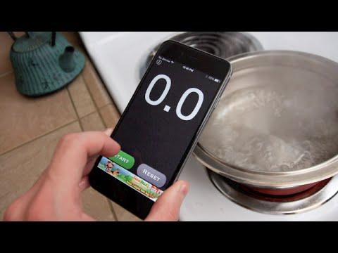 İphone 6 Kaynama Sıcak Su Test - Hayatta Kalacak?