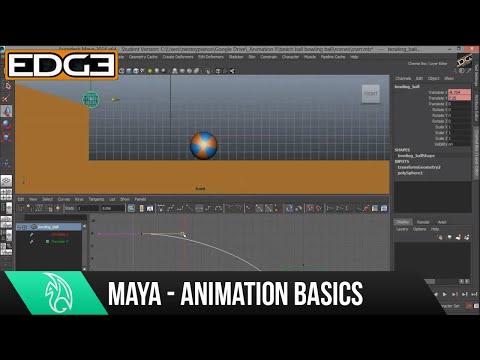 Maya Animasyon Eğitimi İçin Yeni Başlayanlar - Anahtar Çerçeveler Hd Ayarlama