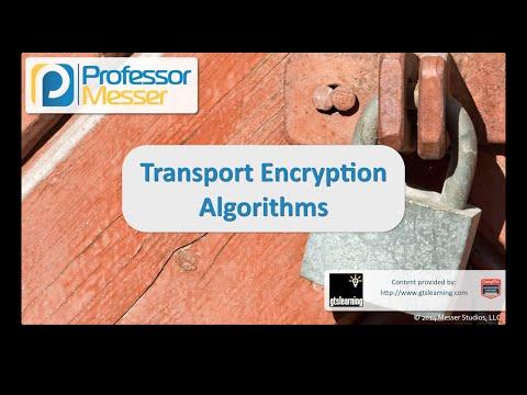 Şifreleme Algoritmaları - Sık Güvenlik + Sy0-401 Taşıma: 6.2