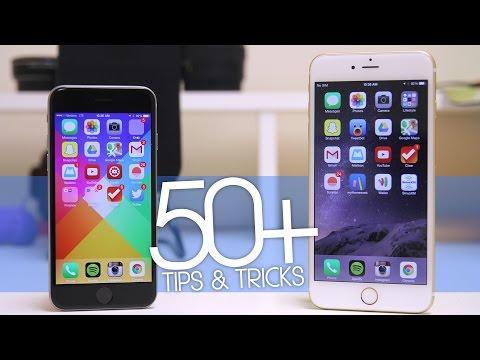 50 + İpuçları Ve Hileler İçin İphone 6 Ve İphone 6 Plus!