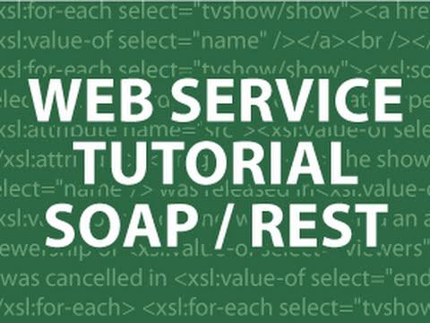 Web Hizmetleri Öğretici 3 Sabun Ve Dinlenme Öğretici