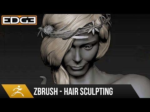 Nasıl Saç Zbrush Eğitimi Hd Heykeltraşlık İçin