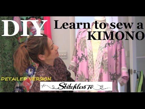 Dantel İle Dıy Kimono Ekler