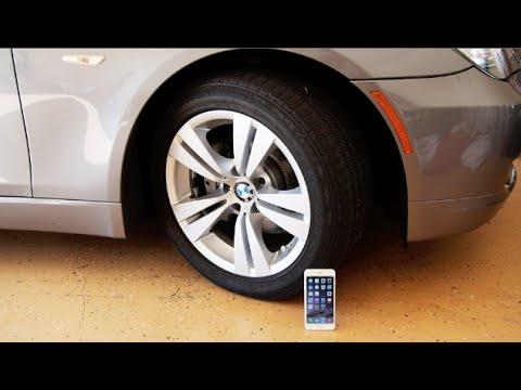 İphone 6 Artı Vs Bmw Araba - Dayanıklılık Testi