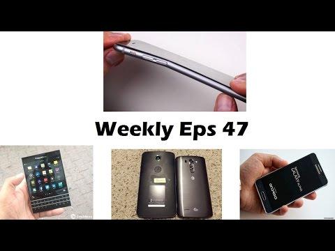 Haftalık Ep 47: İphone 6 Artı Bendgate, Htc Bir M8 Göz, Blackberry Pasaport, Nexus 6