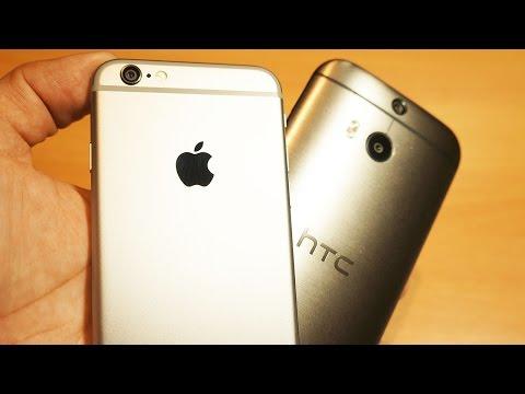 İphone 6 Vs Htc Bir M8 - Evet, Ben Geri Açık