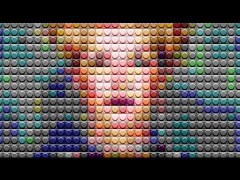 Photoshop: Lego!  Bir Lego Portre Bir Fotoğraf Dönüştürmek