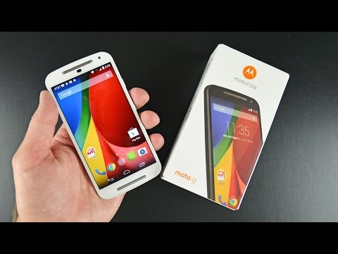 Motorola Moto G (2 Gen): Unboxing Ve Gözden Geçirin
