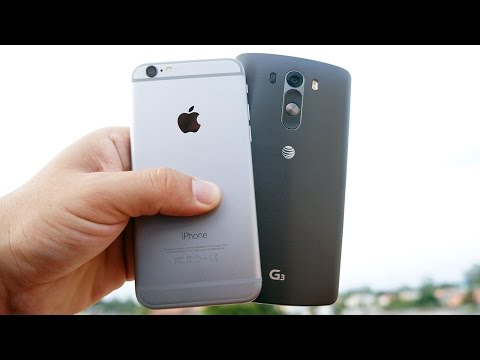 İphone 6 Vs Lg G3 - Bu Zor Bir Soru Oldu