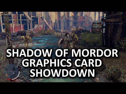 Middle-Earth - Mordor Grafik Kartı Showdown Ve Karşılaştırma Yordamı Gölgesi