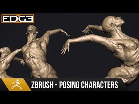 Nasıl Karakter Zbrush Eğitimi Hd Poz