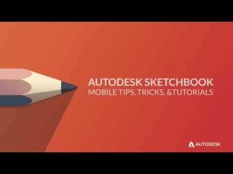 Autodesk Sketchbook İçin Hareket Eden Aygıt - Fırça Kaydırıcıları