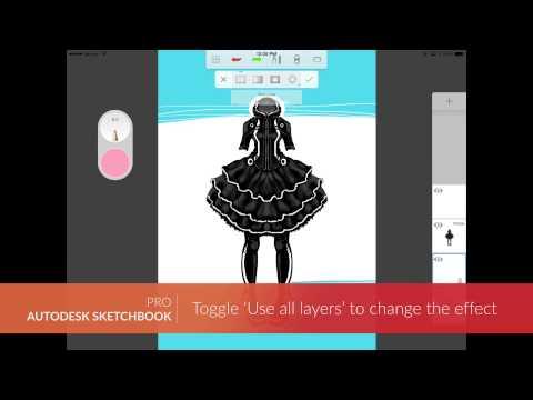 Autodesk Sketchbook Mobil Cihazlar İçin: Sel Dolgular