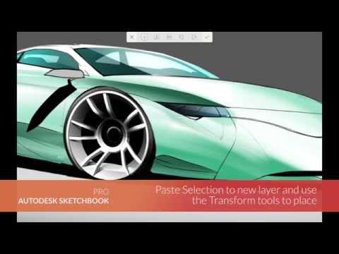 Autodesk Sketchbook Mobil Cihazlar - Seçim İçin