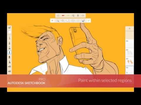 Autodesk Sketchbook Pro - Mobil Cihazlar İçin