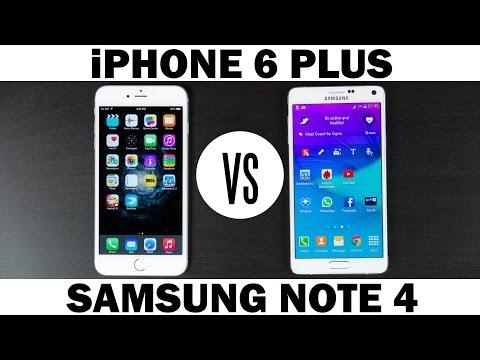 İphone 6 Artı Vs Samsung Galaxy Not 4 Tam In-Depth Karşılaştırma