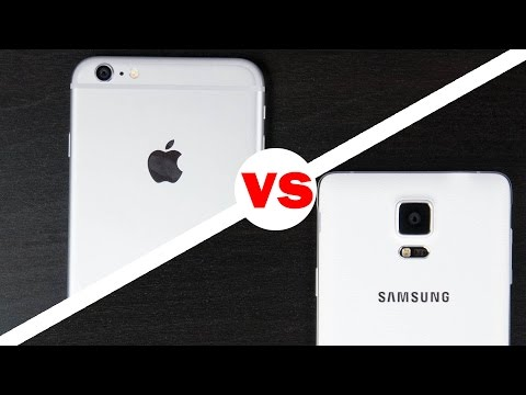 Samsung Galaxy Not 4 Vs İphone 6 Artı Kamera Karşılaştırma