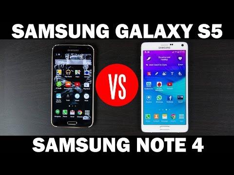 Samsung Galaxy Not 4 Vs Samsung Galaxy S5 Tam In-Depth Karşılaştırma