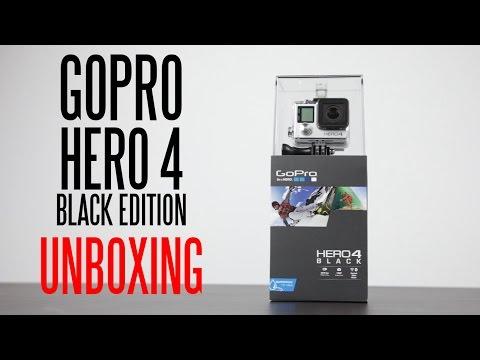 Gopro Hero 4 Siyah Edition Unboxing