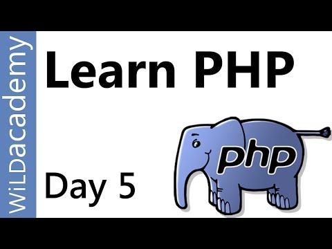 Php Dersleri - 5 - Nasıl Php İçinde Bir Dizi Yazmak
