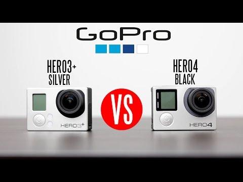 Gopro Hero4 Siyah Vs Gopro Hero3 + Tam Ayrıntılı Karşılaştırma (Watch 4 K)