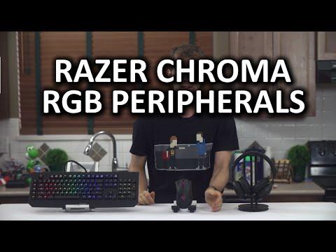 Razer Renk Rgb Line - Blackwidow Son, Deathadder Ve Kraken