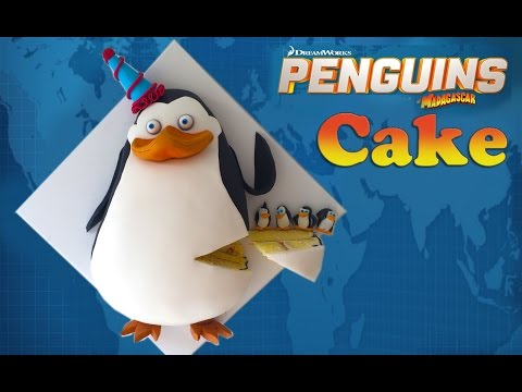 Торт пингвины из мадаг фото
