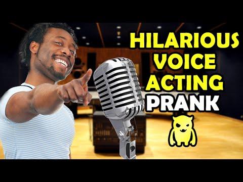 Komik Ses Oyunculuk Dersleri Eşek Şakası - Ownage Pranks