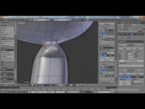 Tuorial Intermedio De Blender - 5 - Modelado Del Cuerpo 1