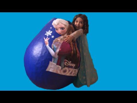 Videolar-Elsa + Anna Oyuncak Yumurta + Değnek Çalış Donmuş Disney Film + Bebek Git Şarkı Müzik İzin