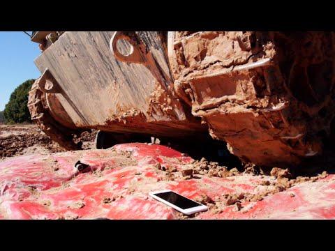 İphone 6 Artı Tank Tarafından-Ezilmiş Olacak Survive?